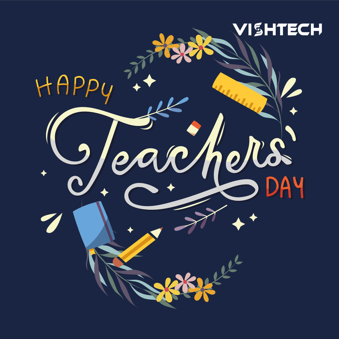 Happy Teachers Day to All Teachers.